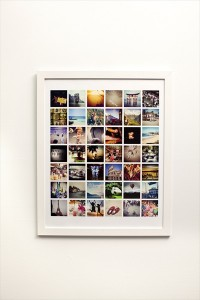 Instant photo collages