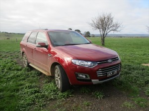 Ford Territory AWD Platinum diesel