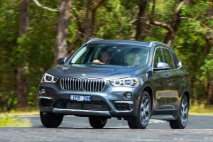 Rod and Sheryl Easdown  look at the BMW X1 25i