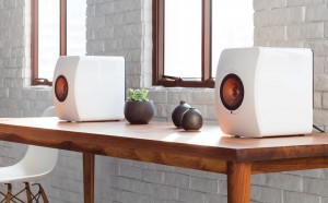 Apartment solution: Kef's LS50 wireless speakers pack a whole music system.