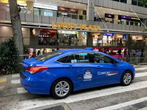 Singapore taxis m
