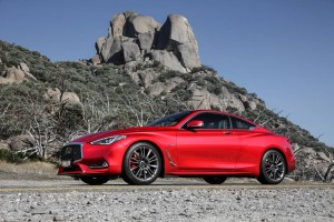 To understand the Infiniti Q60 Red Sport look in the boot. Er, trunk.