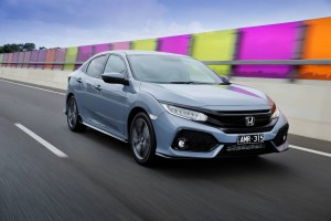 Honda Civic RS. Turns out the name is spot on.