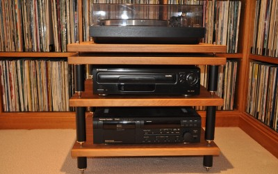 Putting your hi fi gear on show.