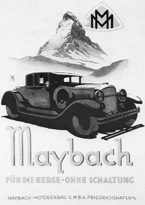 Maybach brochure