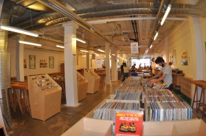03 Record store Copenhagen