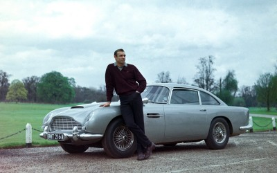GOLDFINGER, Sean Connery, 1964.